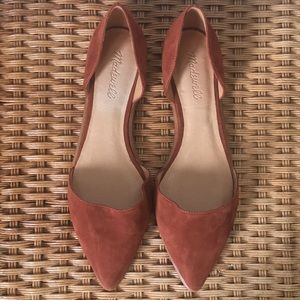 Madewell D'Orsay Flats